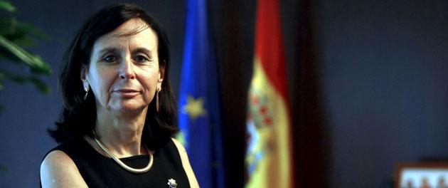 La presidenta del Tribunal Constitucional, María Emilia Casas (Efe).